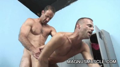 Steven Richards and Mitch Brawn: Beefy Daddies Anal Hunger