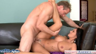 Neighbor Ava Addams gets facia
