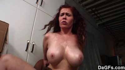 Nympho fucked by her boss at w