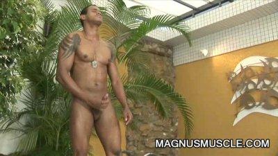 William Carioaca: Muscular Latino And His Big Cock