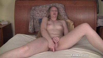 Tiny Boobed MILF Gypsy Toying Her Pussy