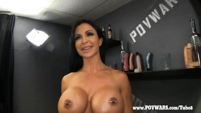 POV Wars Jewels Jade get a train ran on her guy 2