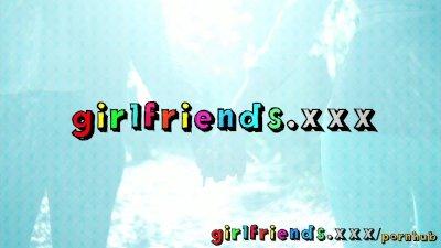 Girlfriends Horse riding hotti