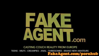 Audition Casting Couch video: FakeAgen Brunette waitress will do anything to become a fashion model