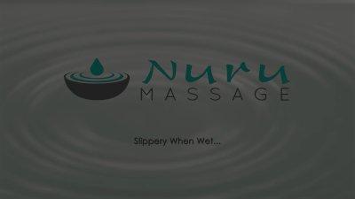 NuruMassage busty Anissa Kate's French massage