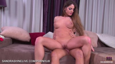 Big boobed Hungarian gets her ass and pussy fucked well