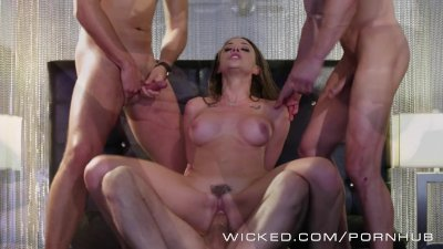 Wicked - Chanel Preston takes three dicks