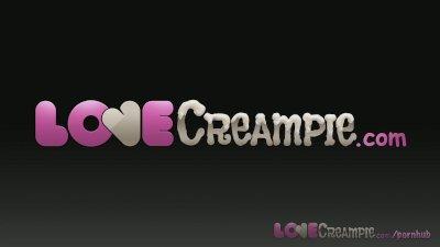 Love Creampie Nerd girl with b