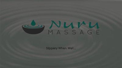 NuruMassage Cassidy Banks Slips and Slides on Cock