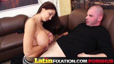 LatinFixation Ava Addams swallow yummy jizz