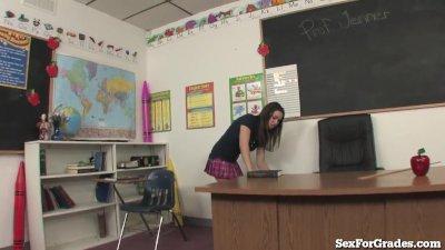 Slutty Student Fucking 2 Teach