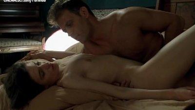 Caroline Ducey – Softcore scene from Romance with Rocco Siffredi