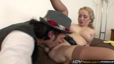 Cute Teen Aiden Starr Gets a Warm Load of Cum all over her Titties