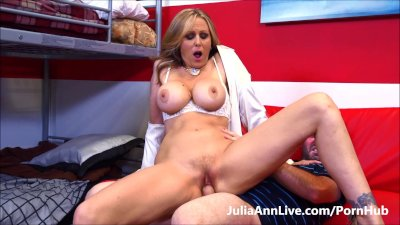 HOT TUTOR! Busty MILF Julia An