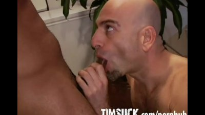 Latin Stud Suck with Cumshot