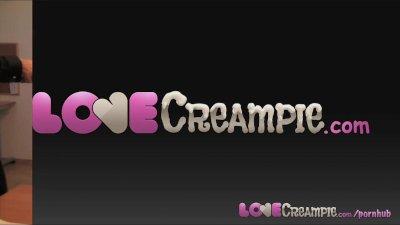 Love Creampie Super sexy stude