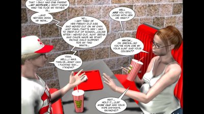 3D Comic: Raymond. The Untold
