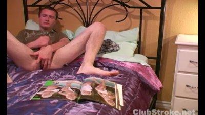 Brunette Straight Guy Mikey Masturbating
