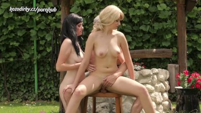 TWO BEAUTIFUL AND HORNY GIRLS RIDING ON COCK LIKE CRAZY
