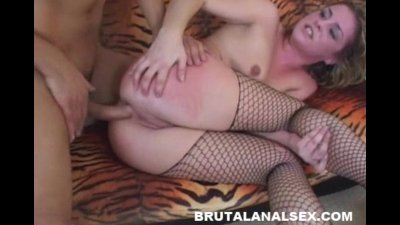Isabelice gets totally ruined by a thick cock in every hole