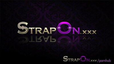 StrapOn Hot blonde lesbians ma