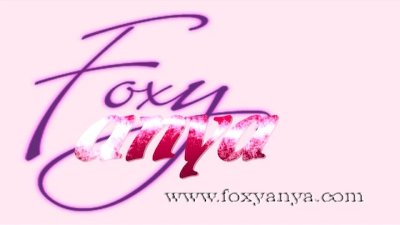 Foxy Anya Toys Her Pussy