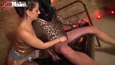 Fetish Kink Kinky video: FUN MOVIES Halloween in the dungeon