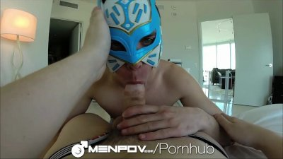 MenPov Two guys have a hot wrestling match