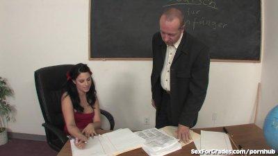 Slutty Schoolgirl Fucks and Su