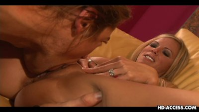 Fabulous blonde busty mature cougar riding on the dude's prick