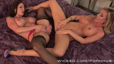 Wicked - Two sexy milfs have s