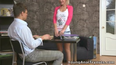 Young Anal Tryouts - This anal