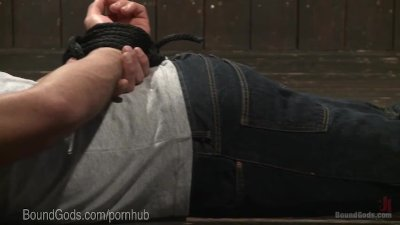 Basement Dom Fucks Submissive Stud