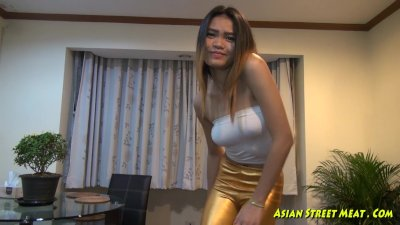 My Cock Deep In Her Asian Thro