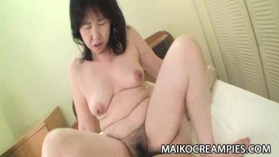 Sumie Nagai - Cock Addicted JAV Mature Riding A Young Guy