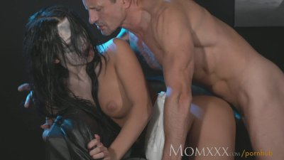 Cougar Cowgirl Creampie video: MOM Nympho Sex Demon exorcised with a good hard fucking and creampie