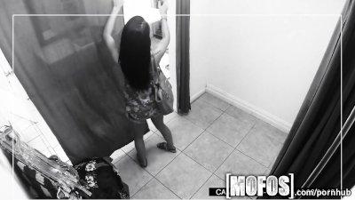 Mofos - Teen gets caught fucki