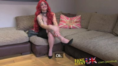 FakeAgentUK Casting couch amat