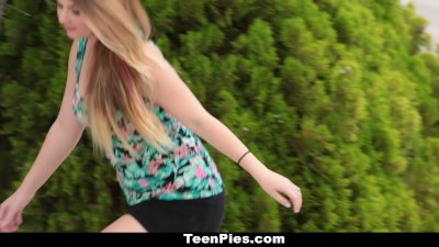 TeenPies - Creampied By Her Be