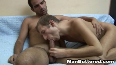 Gay Love Anal and a massive Facial cumshot