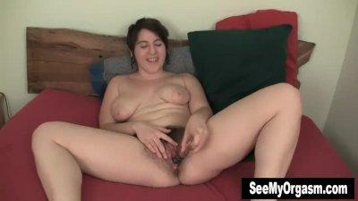 Big breasted Amber Fucking A B