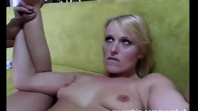 sexy blonde takes anal pleasur