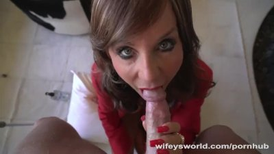 My Wife's Hot Sister Swallowed My Cum