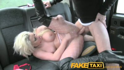FakeTaxi Sexy blonde in rough anal sex