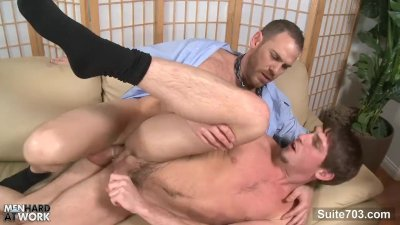 Tempting gay gives oral sex
