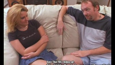 Blondie Wife Gets Fucked While