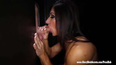 Gloryhole Secrets Elisa Ann loves her gloryhole workout 2